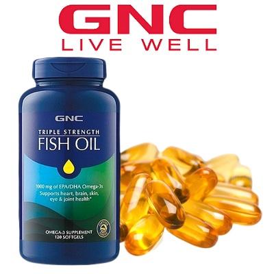 GNC 健安喜:精选热卖鱼油