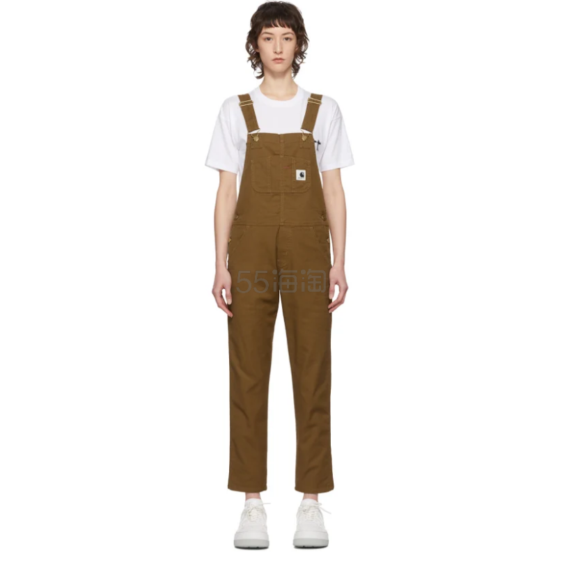 Carhartt Work In Progress 棕色 Bib 背带裤 5(约1,294元) - 海淘优惠海淘折扣|55海淘网