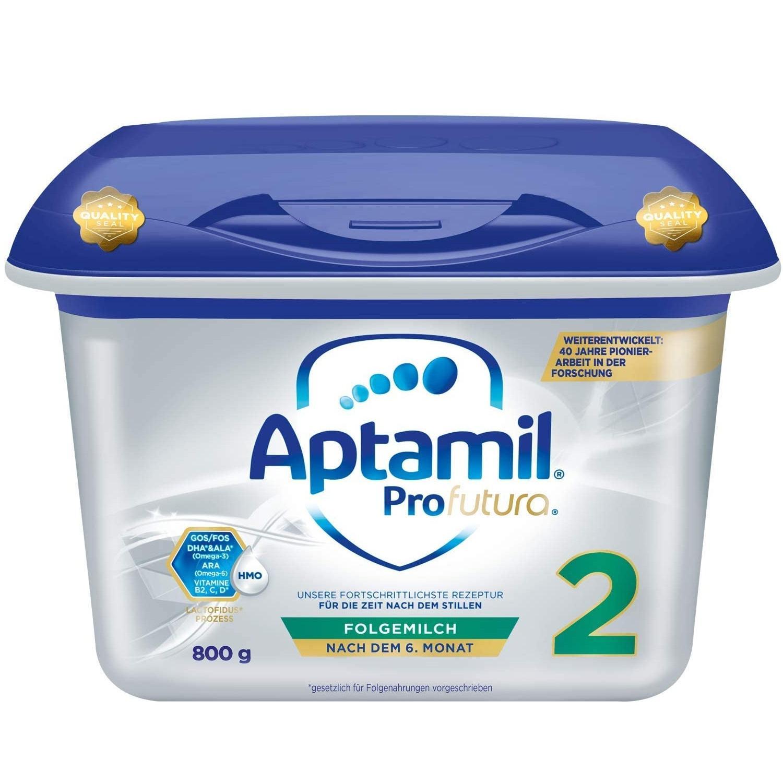德国热销!Aptamil 爱他美 Profutura 白金版婴儿全新配方奶粉 2段 6月+ 800g