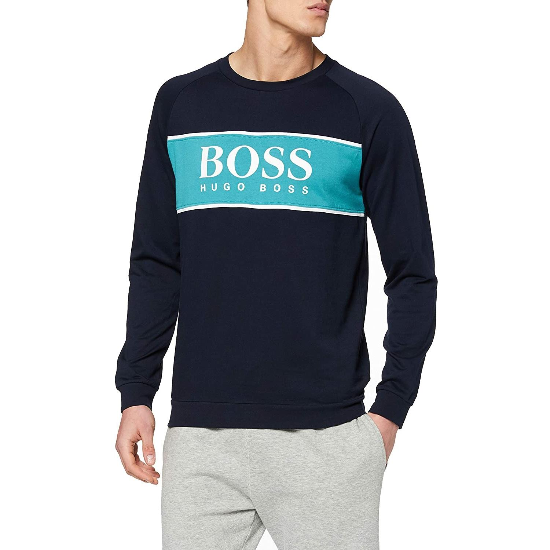Hugo Boss 雨果博斯 Authentic 男士纯棉套头运动卫衣