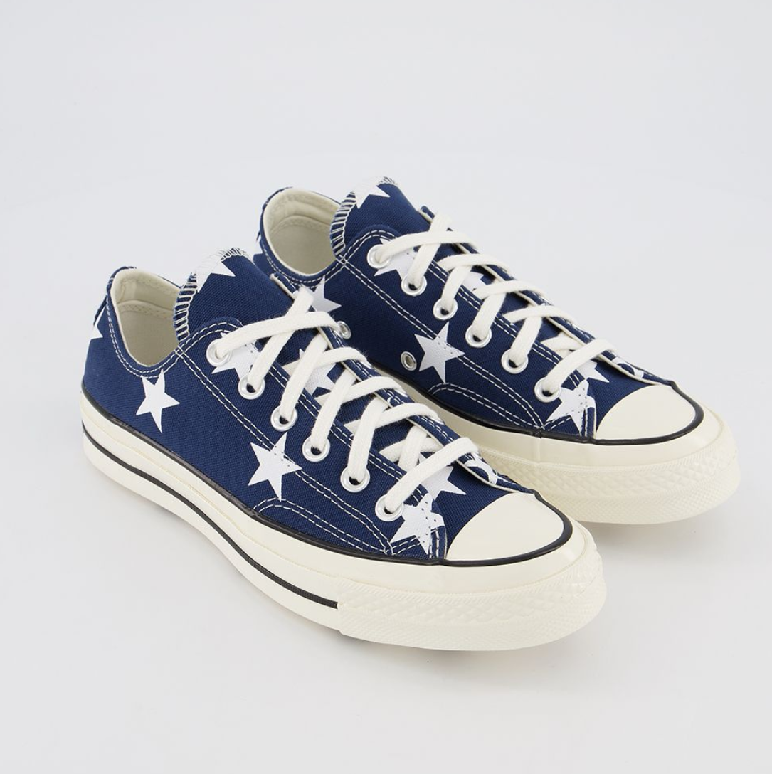 Converse All Star Ox 70s 星星帆布鞋