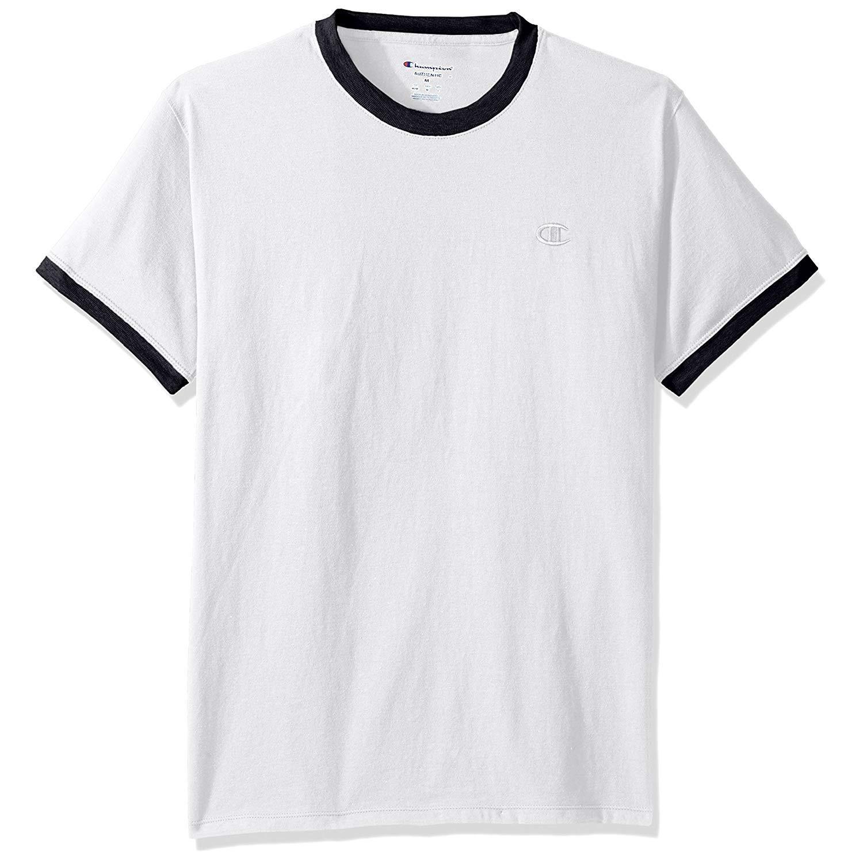 Champion 冠军 Jersey Ringer 经典短袖T恤 S码