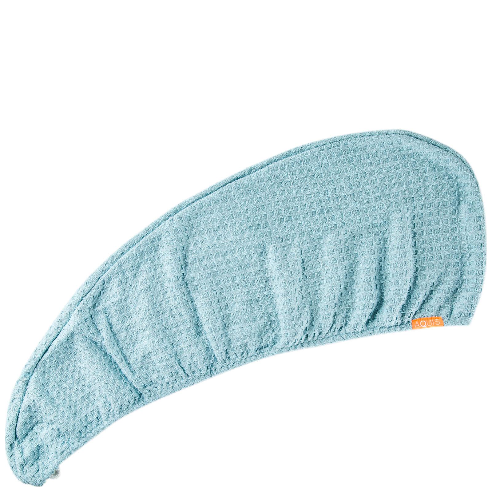 Aquis 快速吸水干发帽 网格版 蓝色