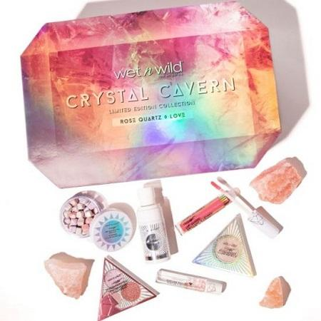 【5折】Wet n Wild 湿又野 Crystal Cavern Rose Quartz Box 彩妆盒
