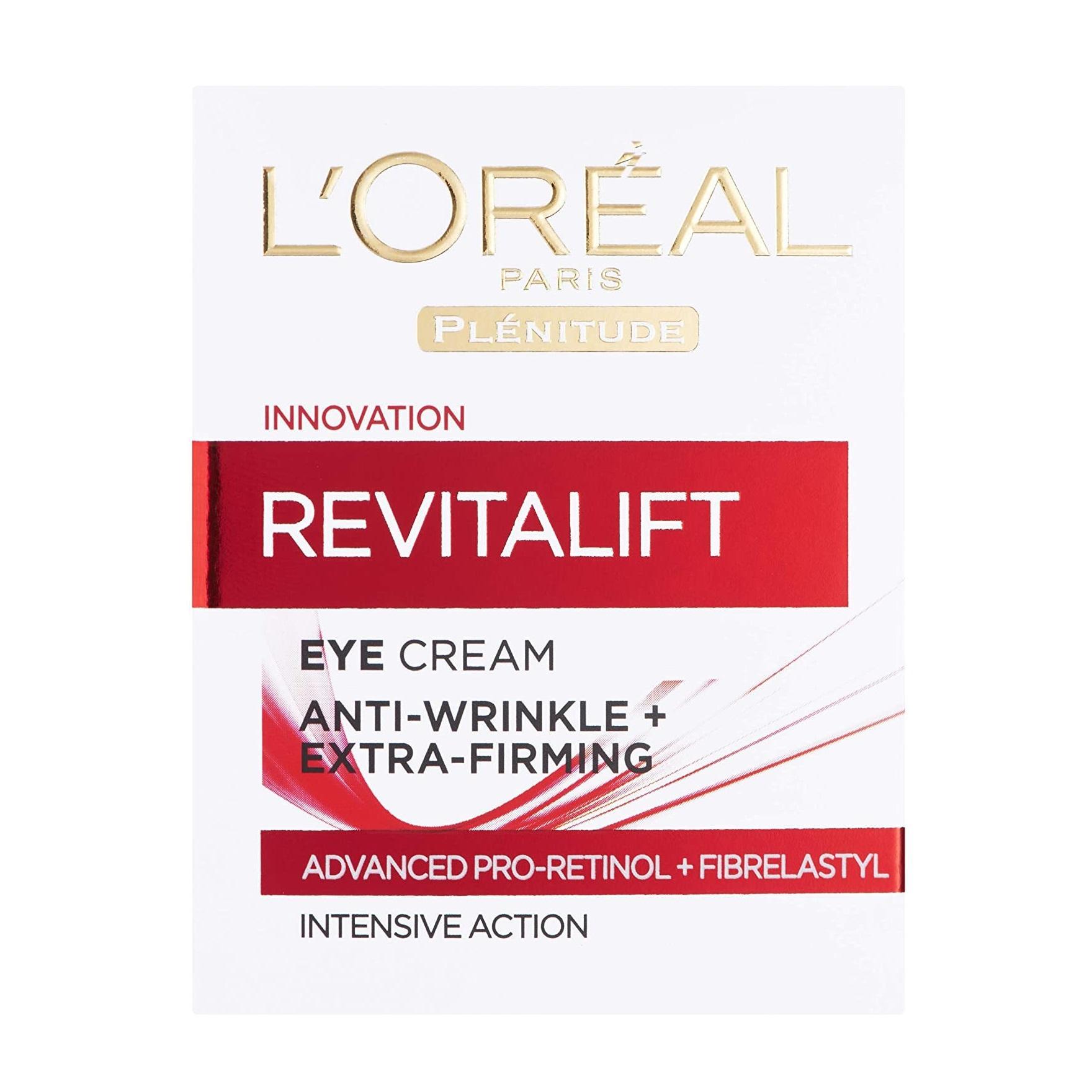 L'Oréal 欧莱雅 Revitalift 复颜抗皱紧致滋润眼霜 15ml
