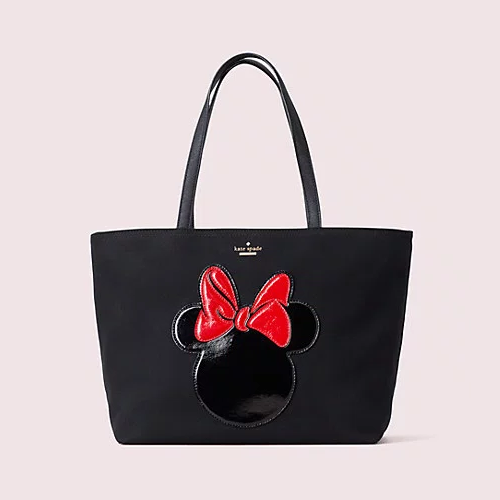 kate spade new york x minnie mouse 联名 francis 托特包