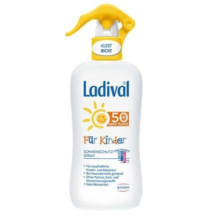 Ladival 婴幼儿防晒喷雾 SPF50 物理防晒 200ml