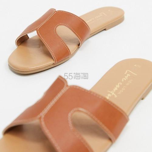 【超低价】New Look H 型外缝线平底凉鞋 ¥71.62 - 海淘优惠海淘折扣|55海淘网