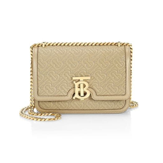 Burberry TB Monogram 小号链条包