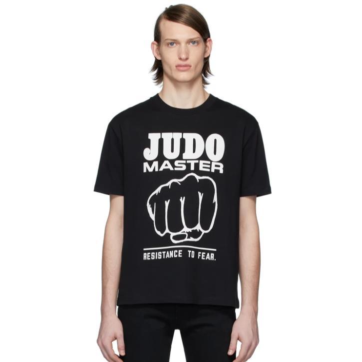 McQ Alexander McQueen 男士黑色T恤衫