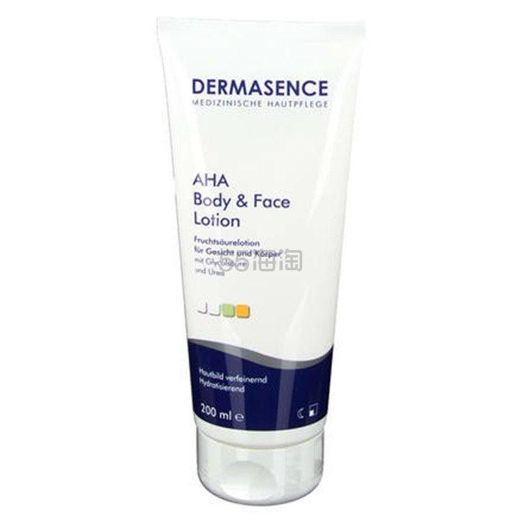 Dermasence AHA 面部身体果酸保湿乳 200ml €19.6(约152元) - 海淘优惠海淘折扣|55海淘网