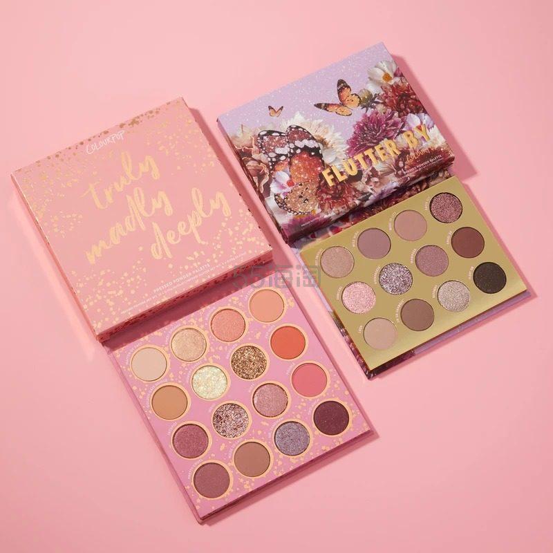 【补货】Colourpop oh she pretty 眼影盘套装 (约219元) - 海淘优惠海淘折扣|55海淘网