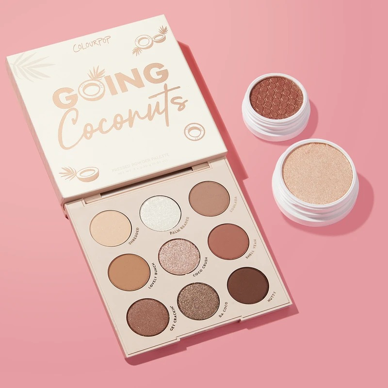 【补货】Colourpop Coconut Creek 椰子盘套装