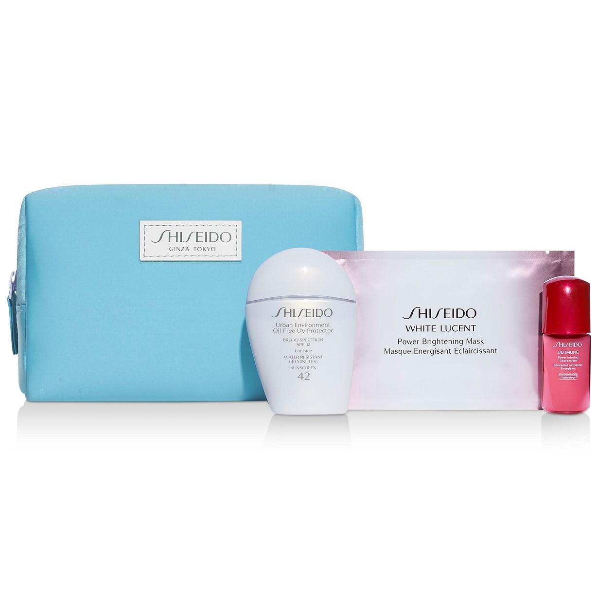Shiseido 资生堂 白胖子防晒3件套装