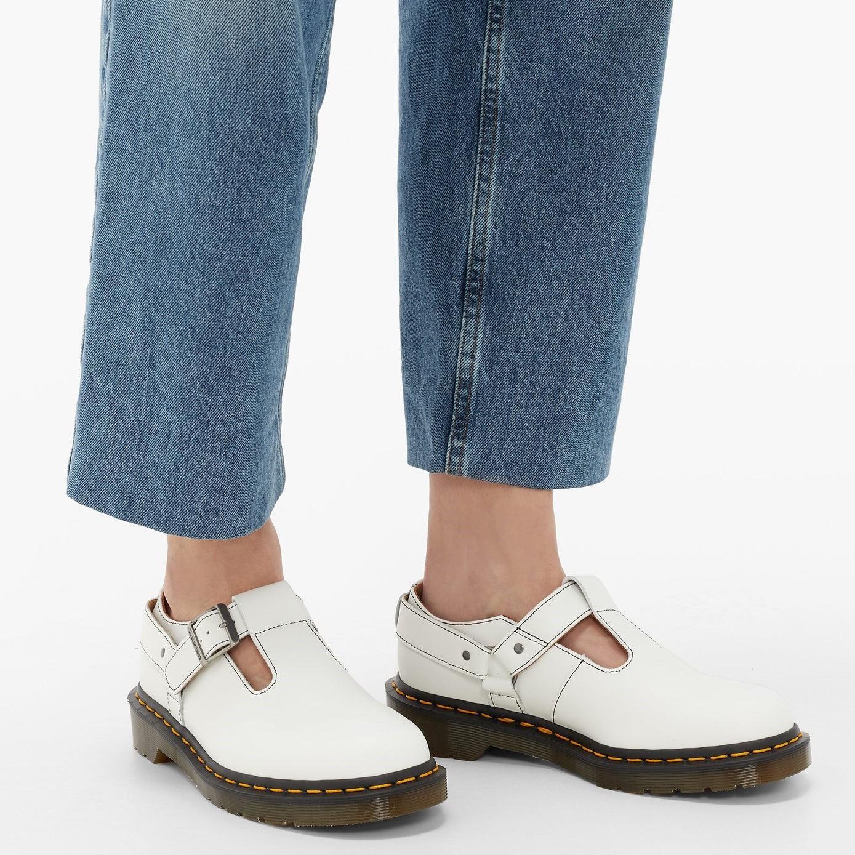COMME DES GARÇONS X Dr Martens 联名皮鞋