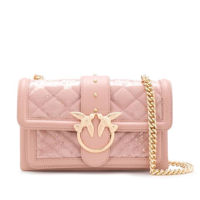 PINKO LOVE 粉色包包