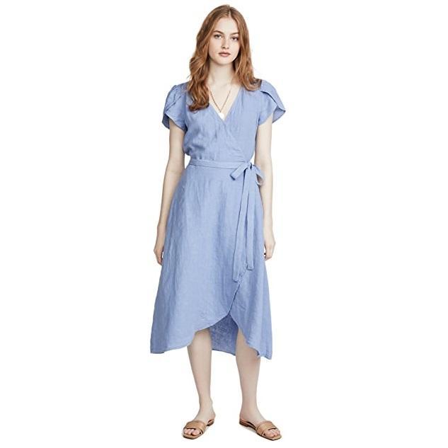 Velvet Posie 纯色连衣裙