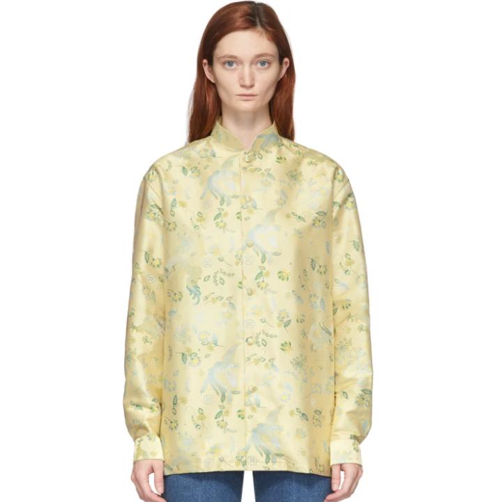 Martine Rose 黄色 Tessanne 衬衫