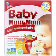 Hot Kid Baby Mum-Mum 苹果南瓜米饼 50g