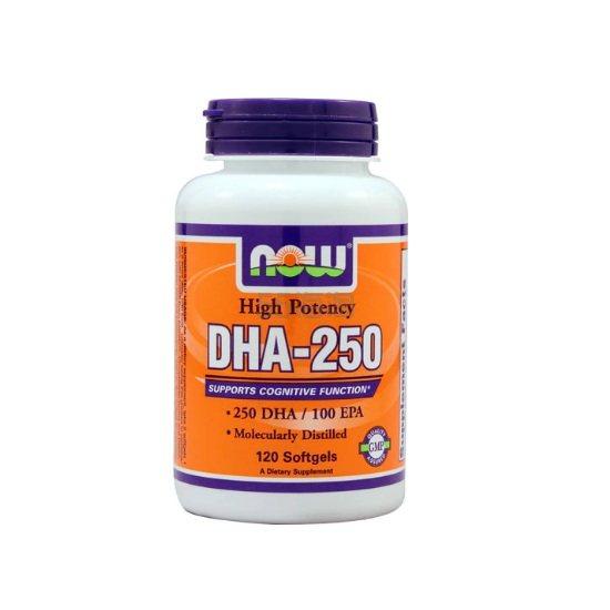 NOW Foods 高效能 DHA-250 120粒 .73(约76元) - 海淘优惠海淘折扣 55海淘网