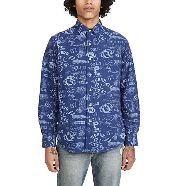 Polo Ralph Lauren 长袖 Grays Hall 衬衫