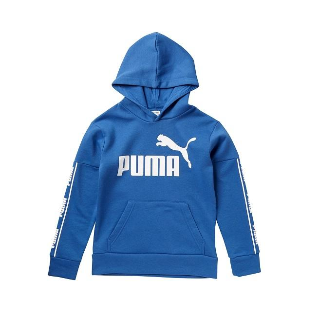 PUMA Amplified Pack 大童款蓝色卫衣