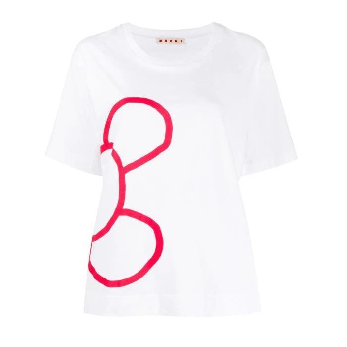 MARNI 老鼠印花T恤