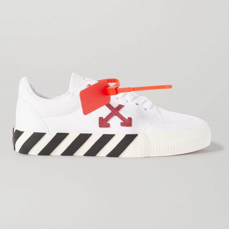 Off-White Arrow 帆布运动鞋