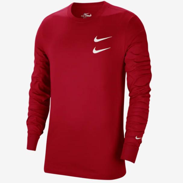 Nike 耐克 Double Swoosh 双勾长袖T恤