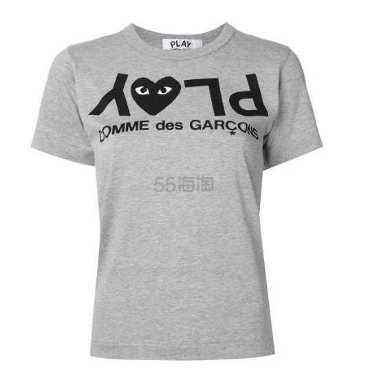 COMME DES GARÇONS PLAY 反转logo T恤 ¥554 - 海淘优惠海淘折扣 55海淘网