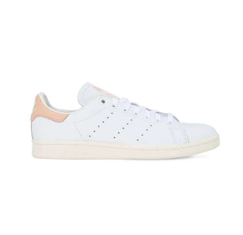 Adidas originals Stan Smith 粉尾小白鞋