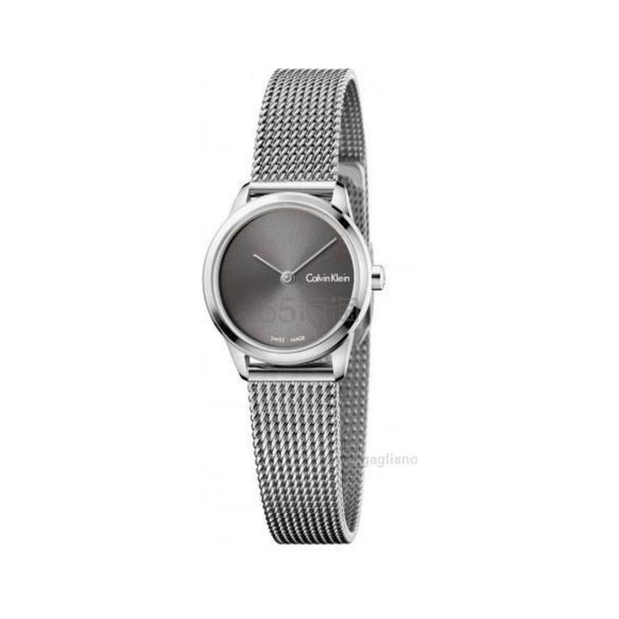 Calvin Klein 卡尔文·克莱因 Minimal 系列 银色女士时装腕表 K3M231Y3 .99(约283元) - 海淘优惠海淘折扣|55海淘网