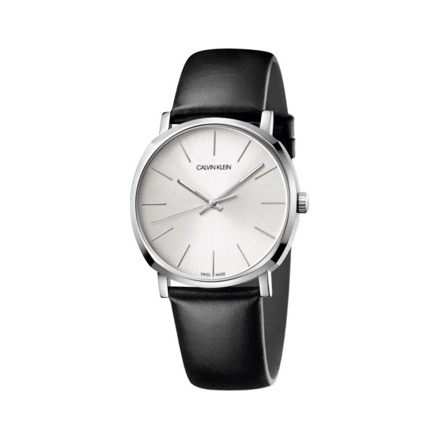 Calvin Klein 卡尔文·克莱因 Posh 系列 银黑色男士时装腕表 K8Q311C6