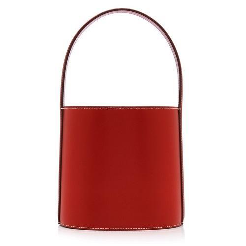 Staud 红棕色水桶包