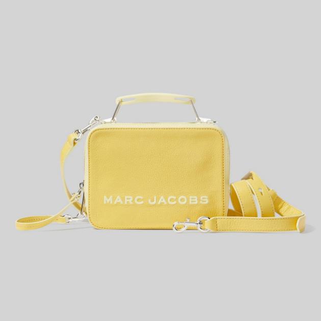 Marc Jacobs 小马哥 The Tricolor Textured Box Bag 午餐包