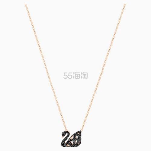 【凑单 6.5折】Swarovski 经典黑天鹅项链