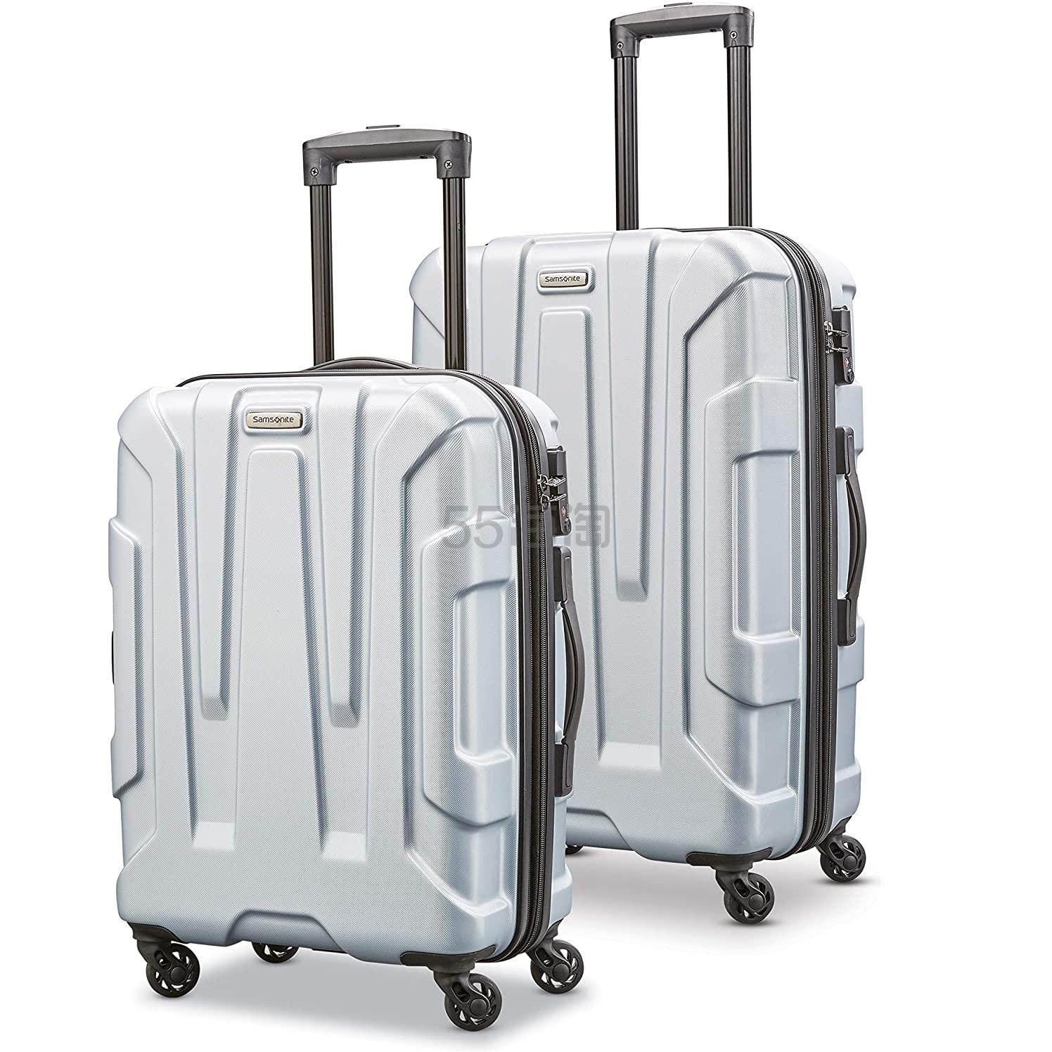 【中亚Prime会员免邮】Samsonite 新秀丽 Centric 万向轮行李箱2件套 20+24寸