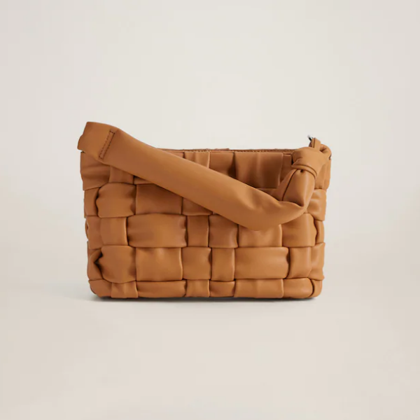 Mango Braided Design Bag 编织包