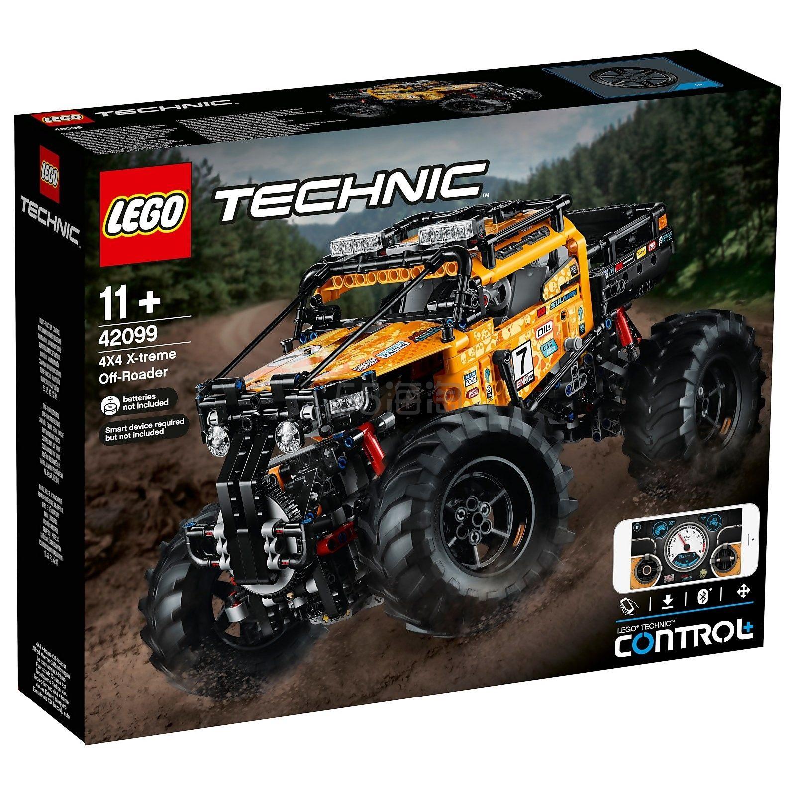 LEGO 乐高 科技系列 全新智能遥控四驱越野车42099