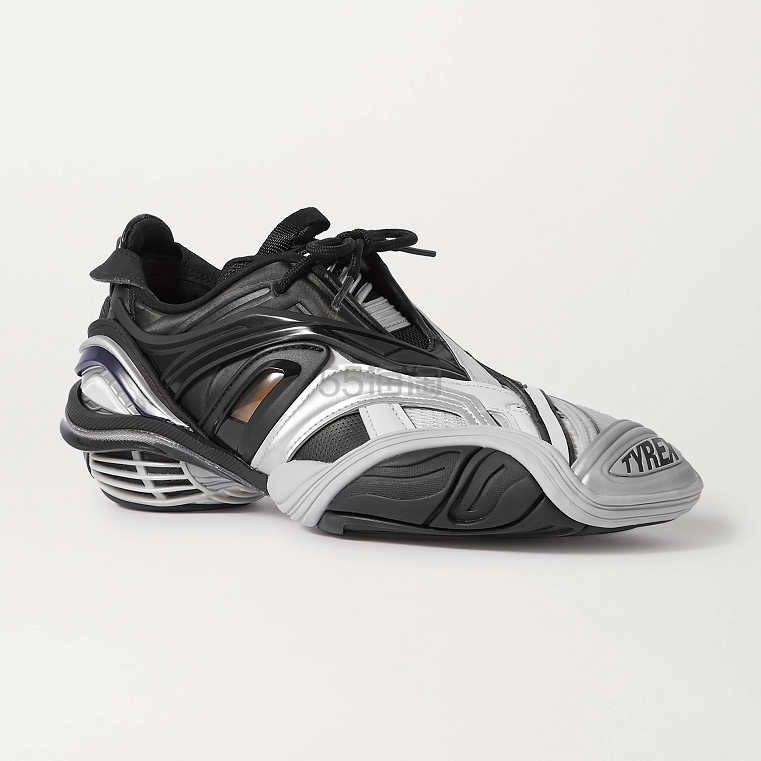 Balenciaga Tyrex 金属感运动鞋