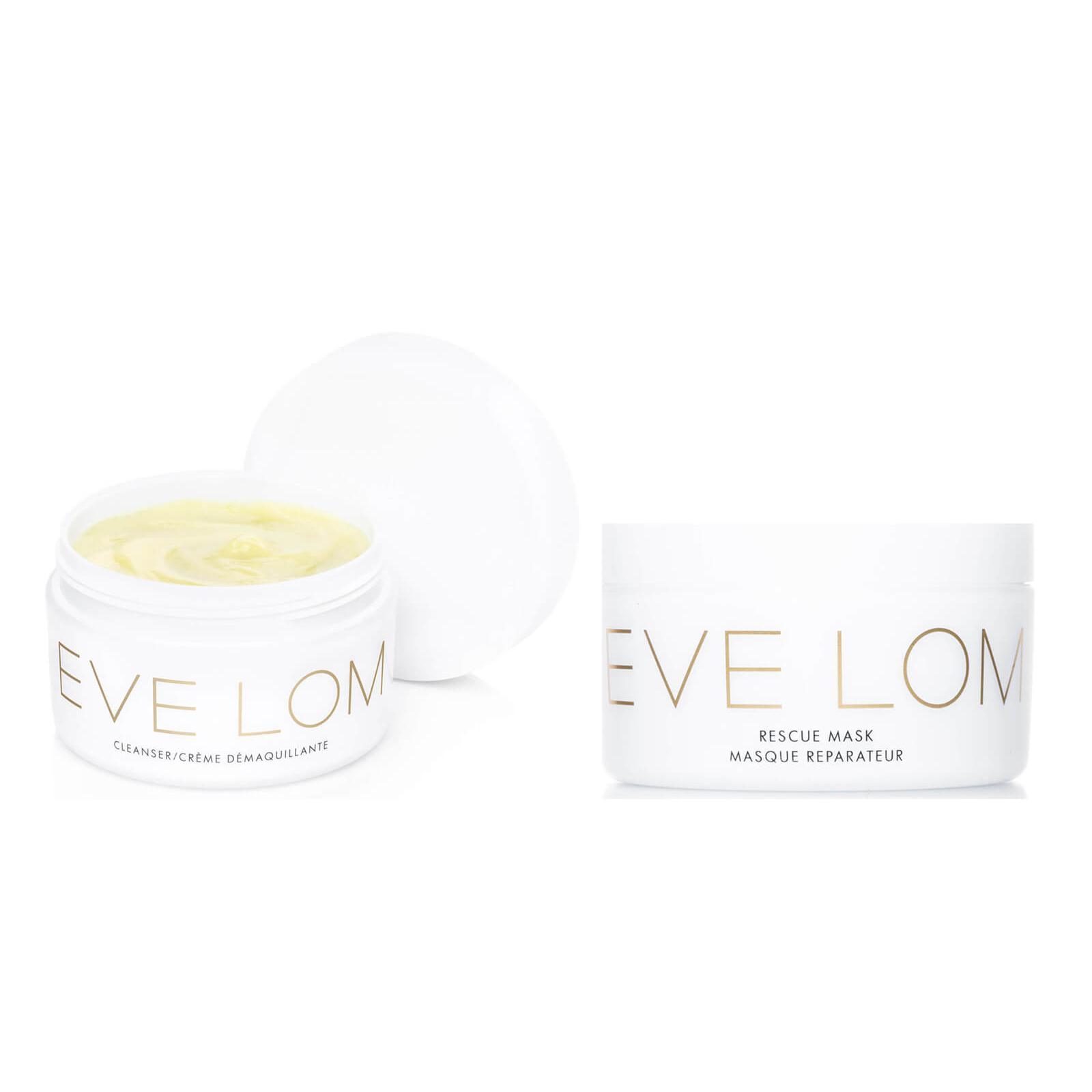 Eve Lom 明星清洁套装(100ml卸妆膏+100ml急救面膜)