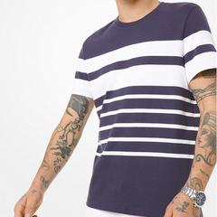 【折上折】Michael Kors 男士纯棉条纹T恤
