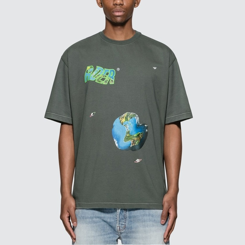 Ader Error Planet Graphic T恤