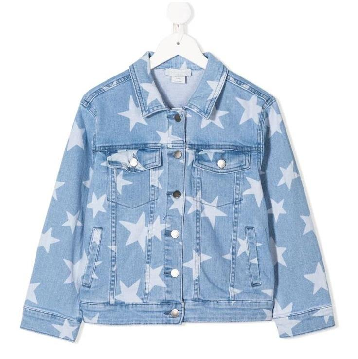 Stella McCartney Kids 星星牛仔夹克
