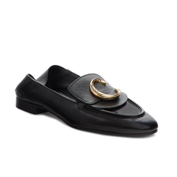 【36码有货】CHLOÉ Story Convertible 女款乐福鞋