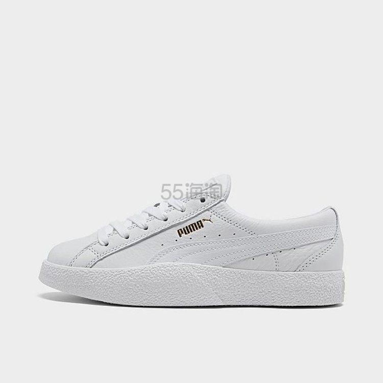PUMA 彪马女子复古小白鞋