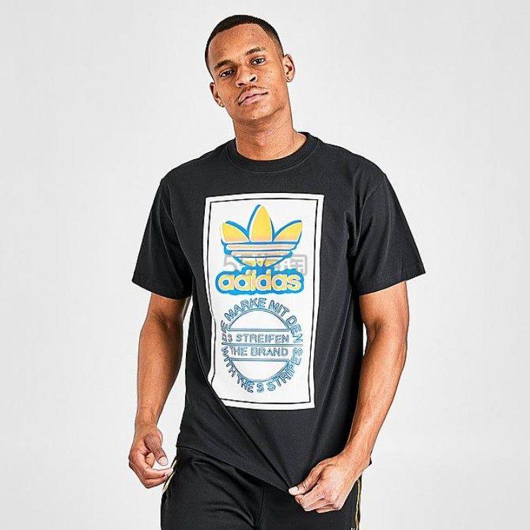 ADIDAS ORIGINALS 阿迪达斯三叶草 男子运动休闲T恤