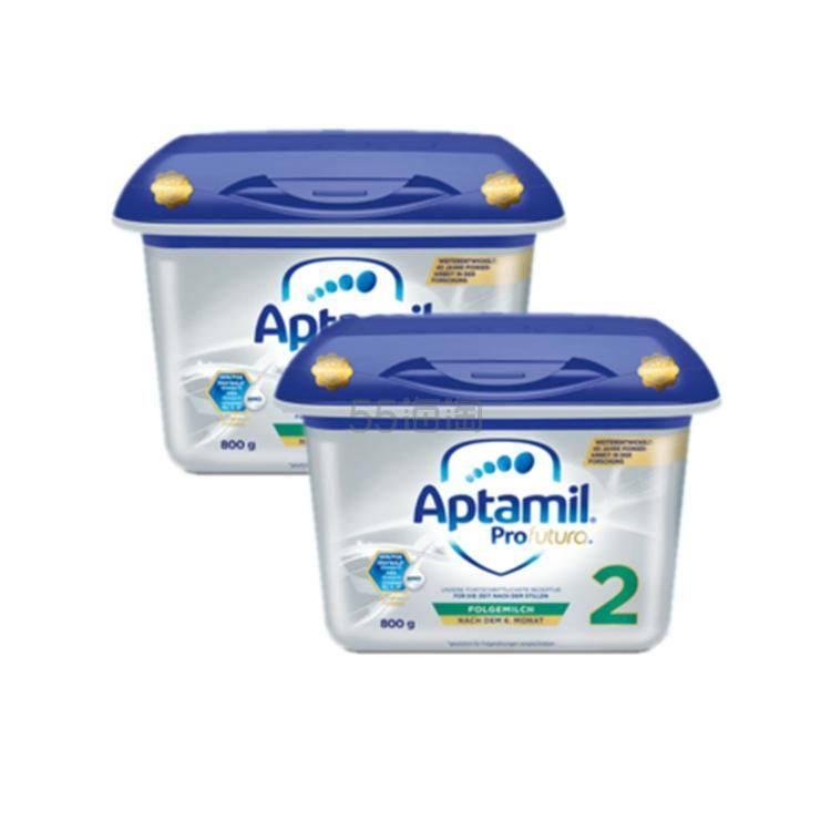 限量补货!【包邮包税】Aptamil Profutura 爱他美 白金版婴儿配方奶粉 2段 6月+ 800g*2盒