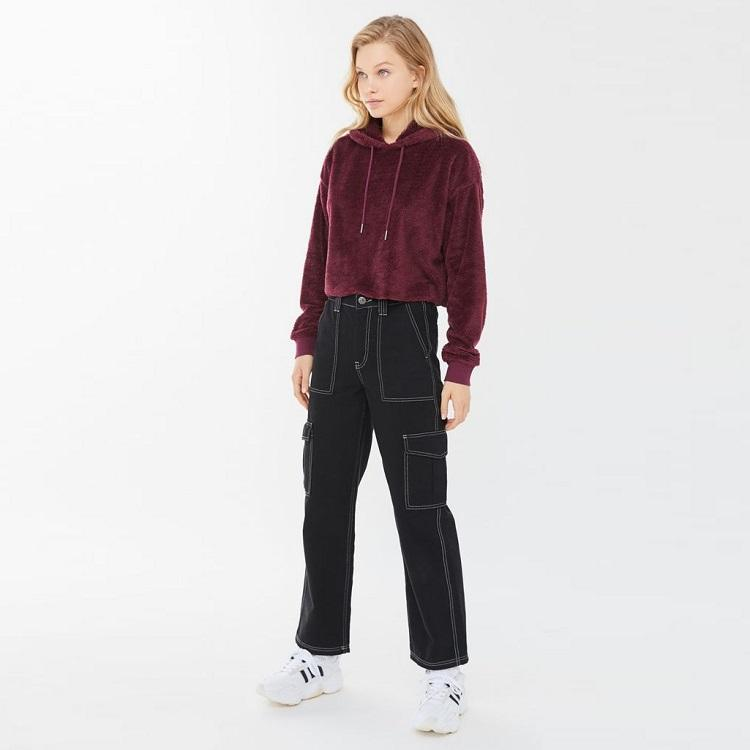 Urban Outfitters Teddy 毛绒卫衣