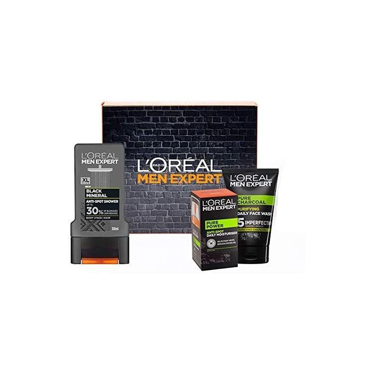 L'Oréal 欧莱雅 Men Expert 男士控油保湿系列礼品套装